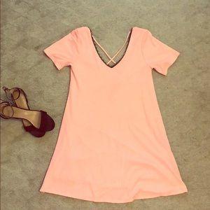 Pink Midi Dress 💕